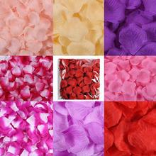 20种颜色庆用品假花瓣婚礼布置手抛仿真玫瑰撒花婚房装饰道具