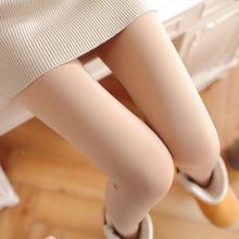 光腿神器加绒加厚春秋冬连裤袜外穿薄绒薄款肉色打底裤肤色女秋裤
