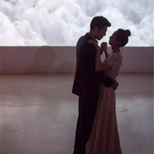 拒绝接亲的50人小型婚礼,文末新郎的誓言太太太太戳泪点了