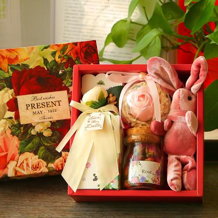 ins风 伴娘伴手礼结婚回礼创意礼物盒