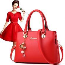 包邮:大红手拎包 婚礼新娘包 时尚化妆新娘包斜挎包手提包