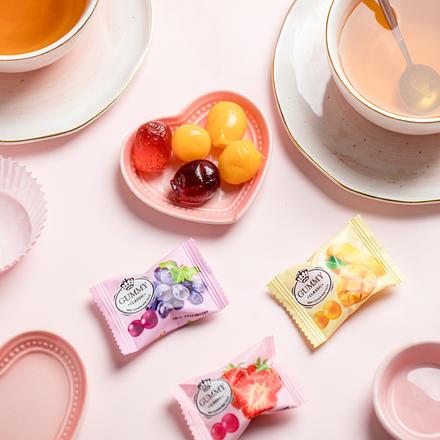 雅伯混合水果软糖 500g约55颗
