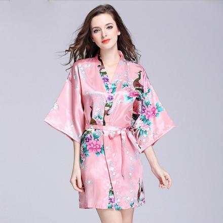 爆款睡袍浴袍新娘晨袍伴娘服