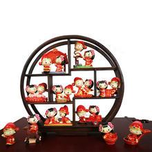 新中式创意家居树脂摆件结婚回礼礼品情侣套装情人节结婚礼物
