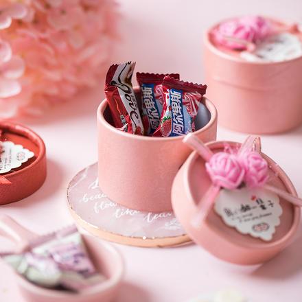 【含8颗糖】玫瑰喜糖礼盒