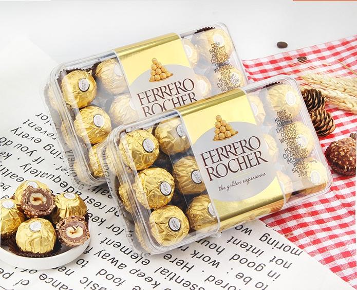 费列罗榛果威化巧克力 30粒原装礼盒装