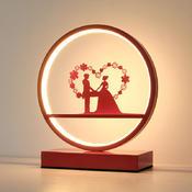 结婚台灯新婚房床头长明灯陪嫁礼物