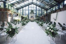 阳光房草坪婚礼