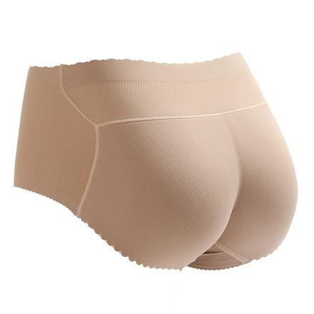 一片式无痕女式提臀收腹加厚中腰内裤