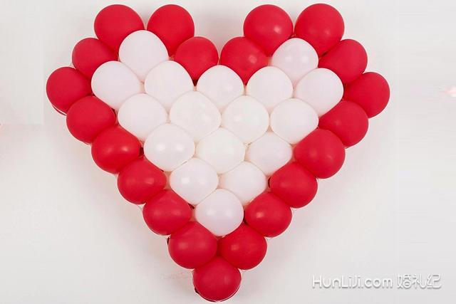 婚房气球的装饰图片,如何简单上墙看这里