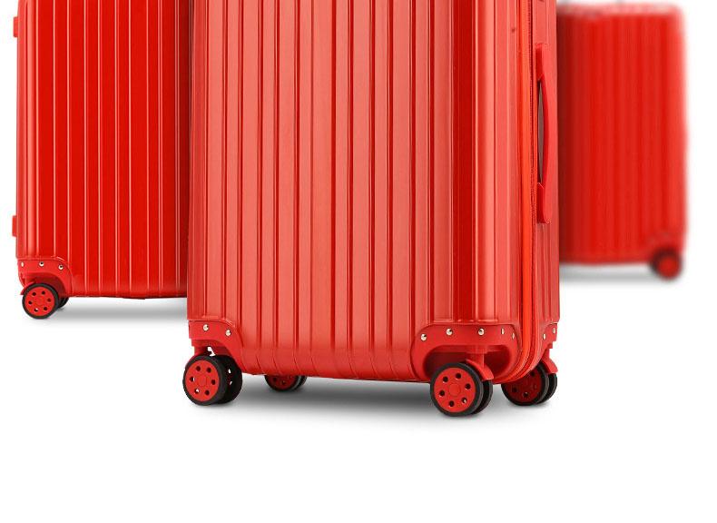 结婚行李箱陪嫁箱大红色拉杆箱嫁妆