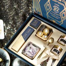 喜糖盒成品含糖伴手礼 伴娘结婚回礼高档礼盒