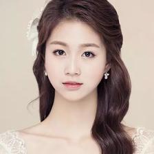 2021韩式唯美婚纱照发型图片大全