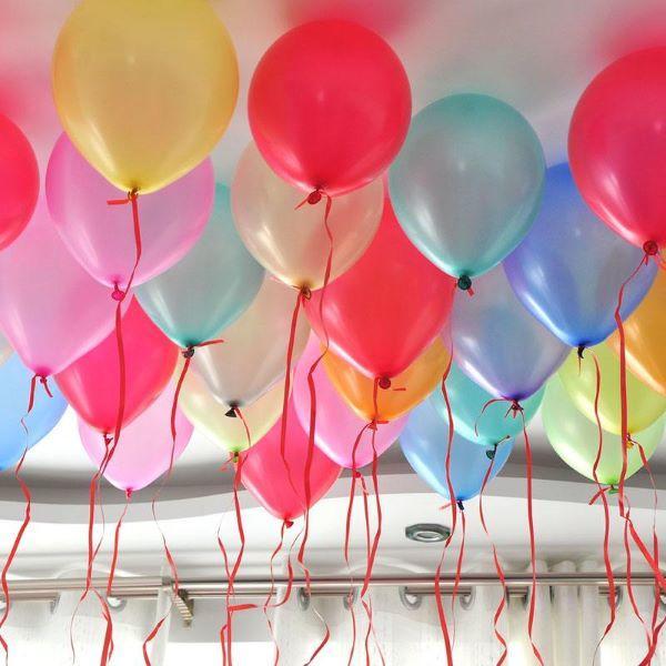 气球装饰婚房布置图片1