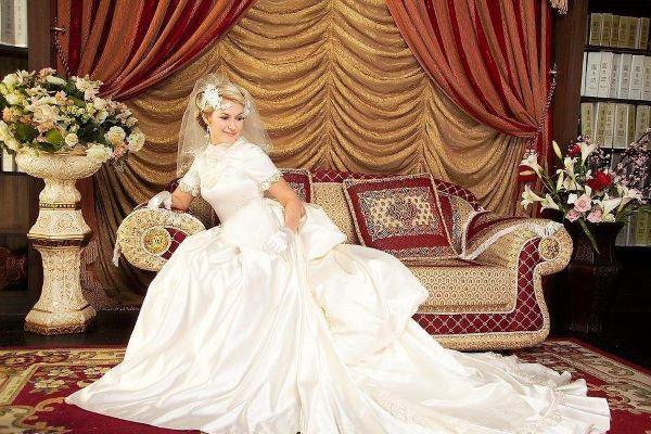 皇室风格婚纱