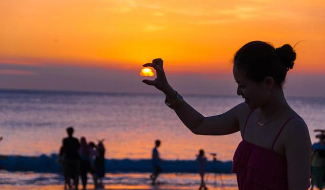 巴厘岛日落