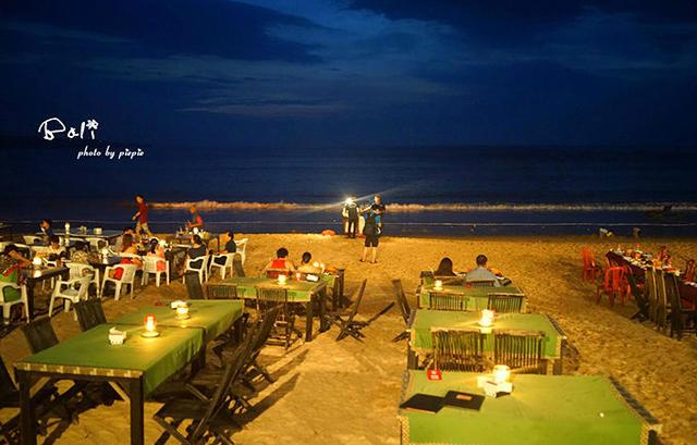 巴厘岛夜景