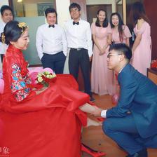 婚礼西服是定制好还是买的好?