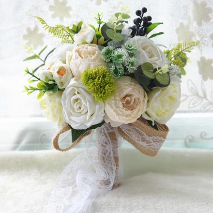 北欧艾莫莎新娘手捧花