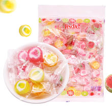 锦大切片水果硬糖创意手工糖果散装500g