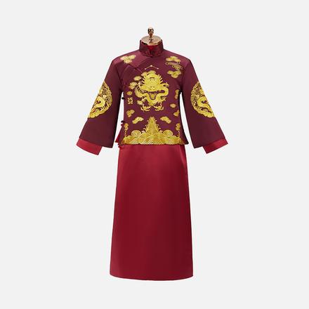 中式乘龙快婿唐装秀禾服