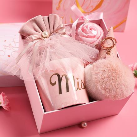 伴手礼结婚婚礼女伴娘礼品盒子ins风喜糖礼盒