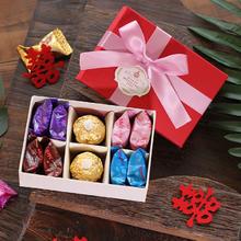 中国风喜糖礼盒结婚回礼伴手礼婚礼创意新款中式喜糖盒子