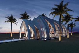 巴厘岛明星仪式堂