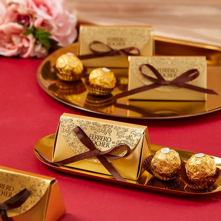 费列罗巧克力喜糖成品2粒装