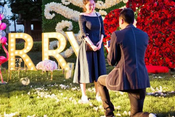 怎么求婚又浪漫又实际 最感人的十五种求婚方式图片