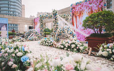 国外的婚庆宴席是怎么布置的?