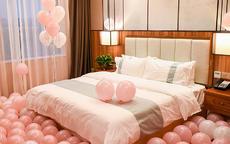 结婚气球布置的颜色选择参考