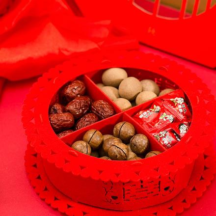 喜庆注册送28体验金的游戏平台白菜网免费领取体验金庆红色无纺布四喜盘