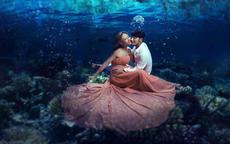 水中婚纱照拍摄时要注意哪些事情?
