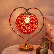 婚房创意手工藤球灯