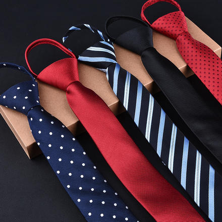 男士新郎棋牌游戏免费送27彩金易拉得拉绳领带