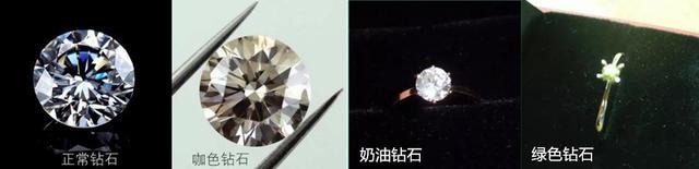 正常钻石vs奶咖绿钻