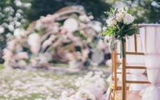小清新婚礼布置图片