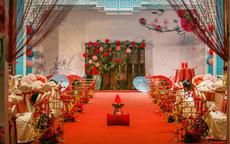 中式婚礼现场布置的注意细节 美轮美奂的中式婚礼现场