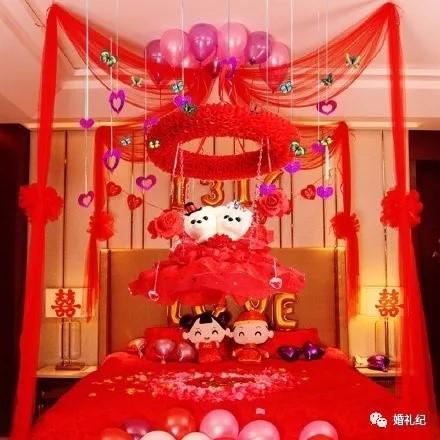 丑陋的婚房布置照片