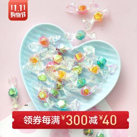 千纸鹤炫彩迷你水果糖 458g约290颗