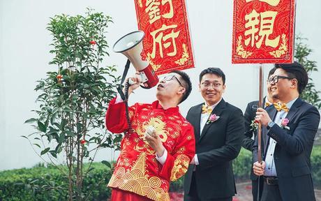 杭州结婚主要风俗