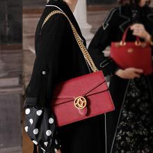 【下单赠丝巾】拉菲斯汀女士包包时尚休闲酒神包百搭链条包