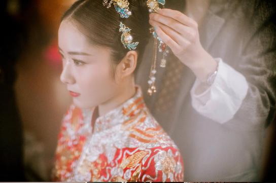 下载app领彩金37必拍——新娘梳妆