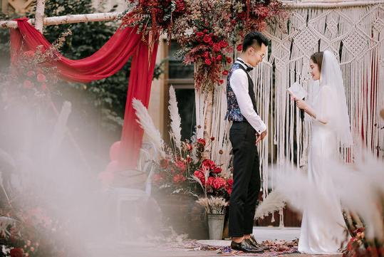 婚礼必拍——宣誓环节