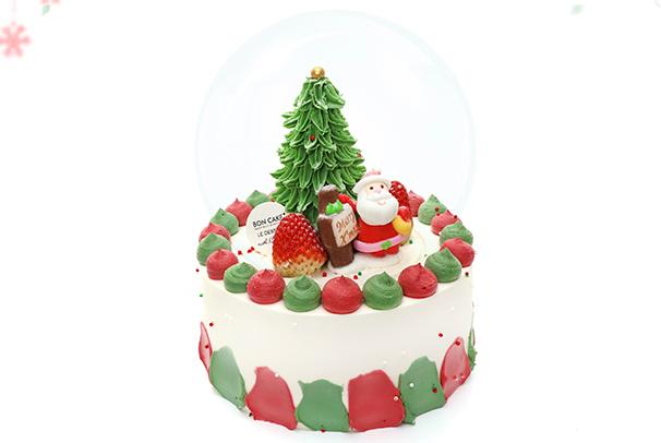 2019最新圣诞节蛋糕图片 网红创意生日蛋糕