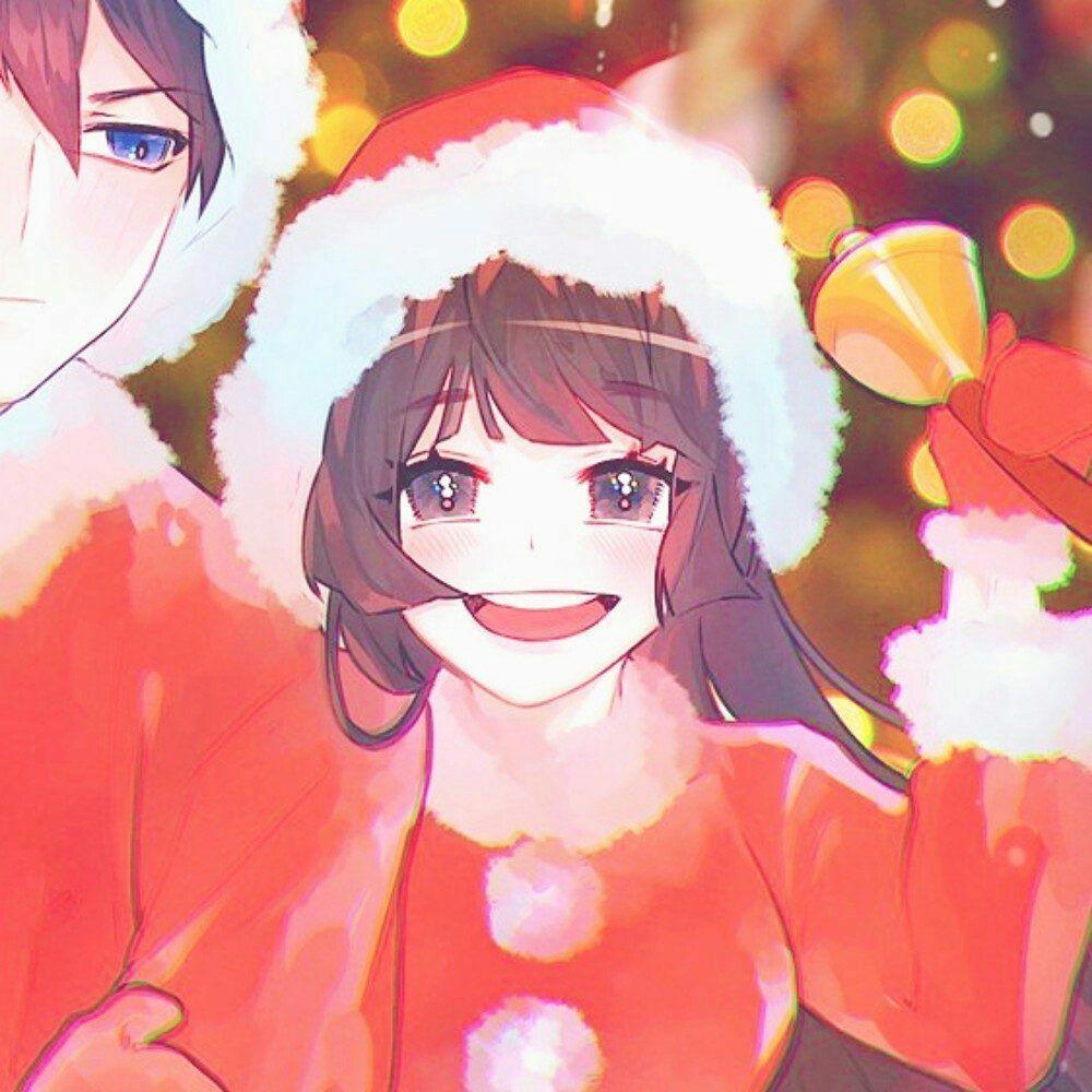 圣诞情侣头像16