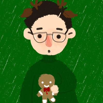 圣诞情侣头像31