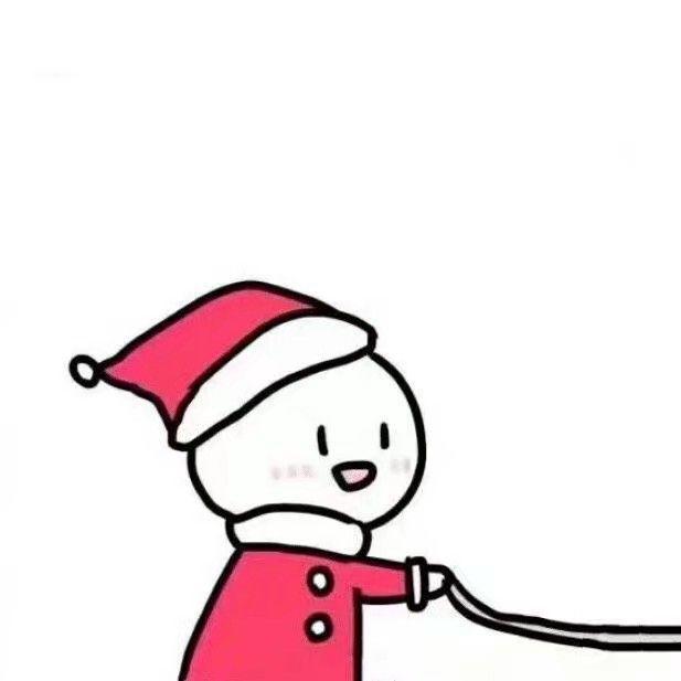 圣诞情侣头像32