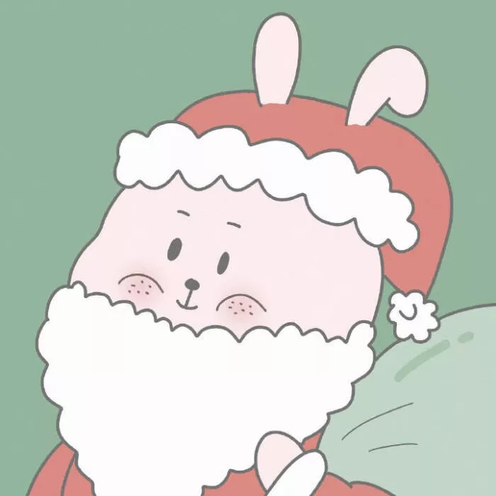 圣诞情侣头像53